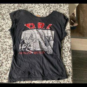 VINTAGE SOURPUSS D.R.I  Shirt